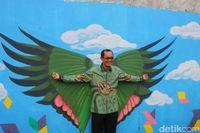 Wali Kota Palembang di Goedang Boentjit (Raja Adil/detikTravel)