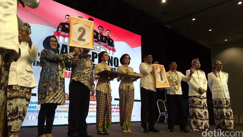Nomor Urut Pilwalkot Cirebon, Bamunas-Edo 1 dan Azis-Eti 2