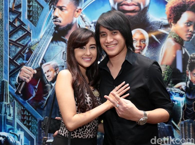 Foto: Vicy Melanie dan Kevin Aprilio (Ismail/detikHOT)