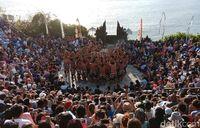 Pertunjukan Tari Kecak di Pura Uluwatu (Ahmad Masaul/detikTravel)