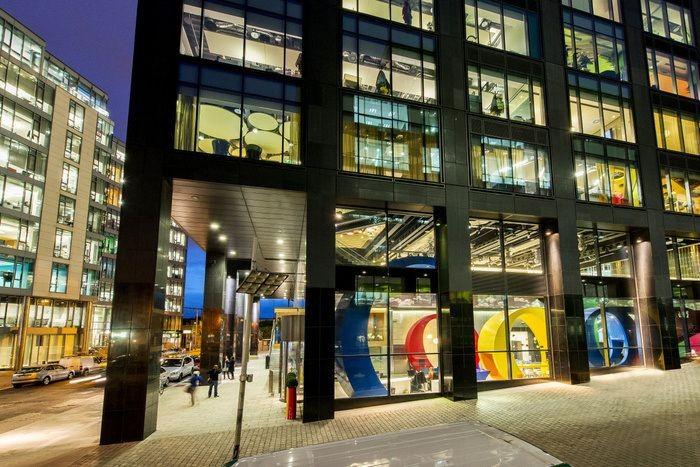 Kantor Google. Foto: Office Snapshot