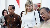 Jokowi Bahas Penyederhanaan Izin dengan Ratu Maxima