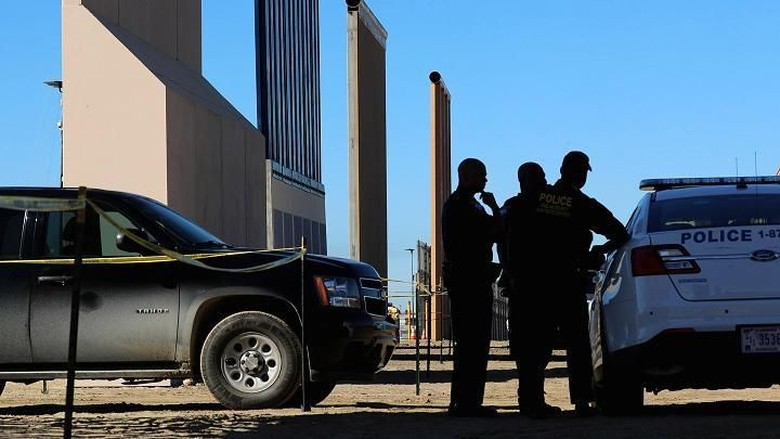 Ilustrasi perbatasan AS (Reuters)