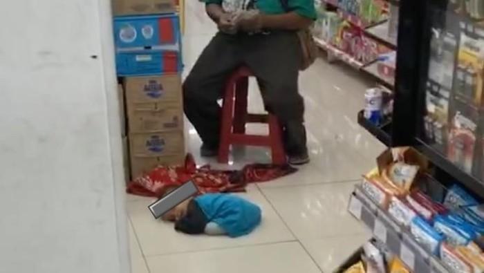 Viral bocah diduga dijadikan pengemis. (Instagram/@nanaaelena)