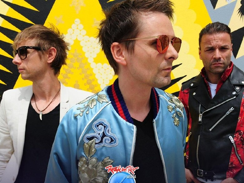 Muse Khawatir Idenya Habis karena Kebanyakan Konser