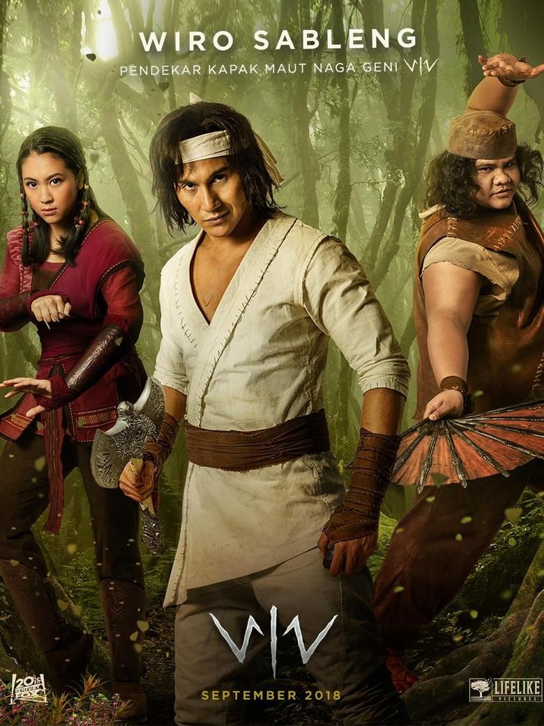 Penampakan Vino G Bastian dan Sherina Munaf di Poster Terbaru Wiro Sableng
