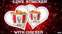 Hmm... Kartu Romantis Valentine Ini Menebarkan Aroma Ayam Goreng KFC!