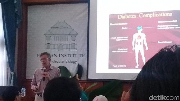 Prof. Andrew Peterson, Senior Director dari Molecular Biology Genentech, Amerika (Foto: Frieda isyana Putri)