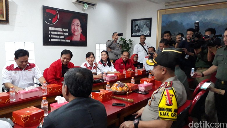 Kapolda Bicara Pengamaman Pilkada di Hadapan Hasanuddin-Anton
