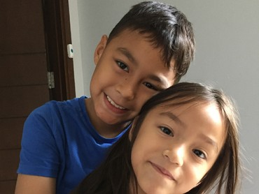 Manisnya Diego dan Sabrina. (Foto: Instagram/liodiegosabrina)