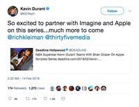 Apple dan Bintang Basket NBA Akan Produksi Serial TV