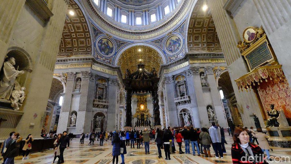 Foto: Gereja Paling Megah Sedunia di Vatikan