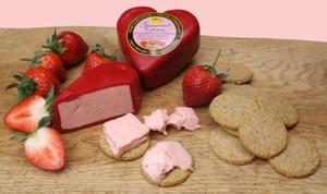 Unik! Keju Rasa Strawberry, Cream dan Champagne Spesial untuk Valentine