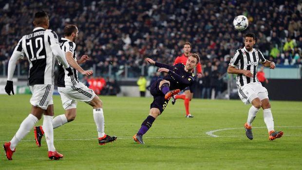 Christian Eriksen menjadi salah satu motor serangan Tottenham dalam laga melawan Juventus.