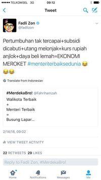 Cerita Fadli Zon 'Gandeng' Fahri Sindir Sri Mulyani di Twitter