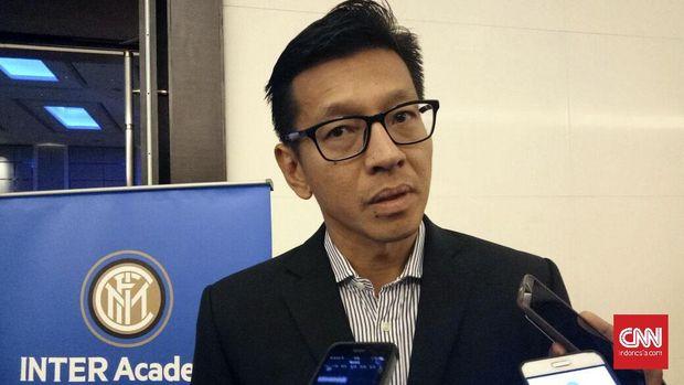 Direktur PT PBB, Teddy Tjahjono melontarkan guyonan mengincar striker Internazionale Milano, Mauro Icardi. (