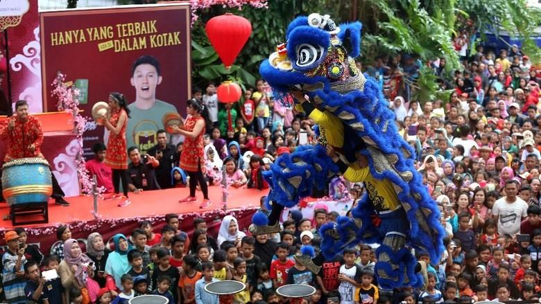 Pertunjukan Barongsai di Trans Studio Mall Bandung (TSM Bandung)