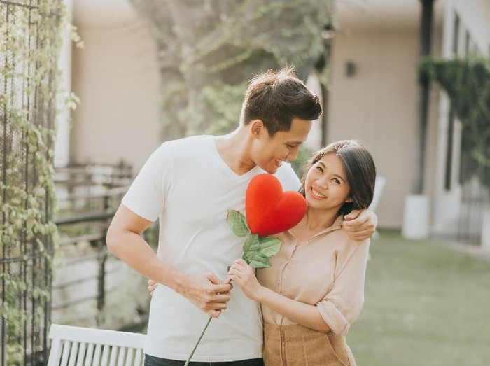 Ilustrasi romantis di Hari Valentine. Foto: Dok. Thinkstock