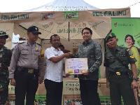 Berbagi Berkah Imlek dengan Warga Pinggiran Kabupaten Tangerang