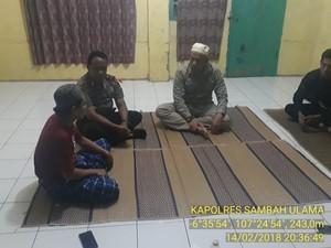 Cegah Aksi Penyerangan, Polisi Purwakarta Menginap di Rumah Ulama