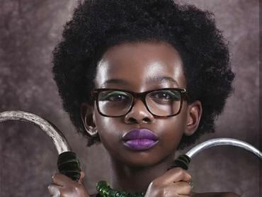 Kalau yang ini namanya Nakia, mata-mata dari Kerajaan Wakanda. (Foto: Instagram @mzkaybebe)