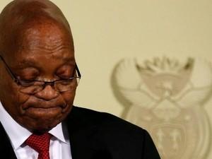 Presiden Jacob Zuma Akhirnya Mundur Setelah Diancam Partainya