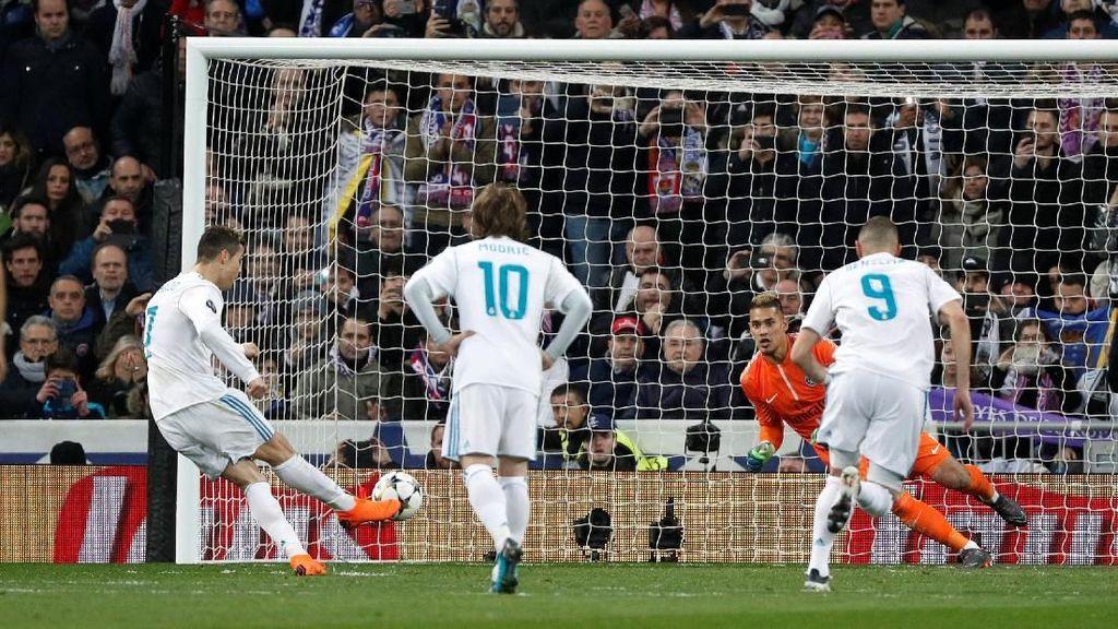 Eksekusi Penalti Misterius Ronaldo di Bernabeu