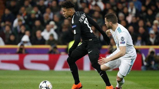 Neymar gagal mencetak gol dalam laga ini meskipun pergerakannya kerap membahayakan lini belakang Madrid.