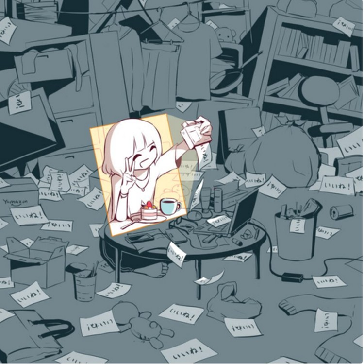 Gambar Kartun Wanita Sakit Hati Kartun Keren Karya Seniman Misterius Yang Menusuk Hati