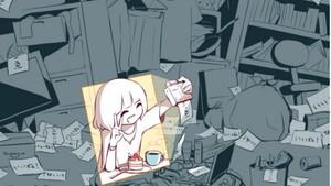 Kartun Keren Karya Seniman Misterius yang Menusuk Hati