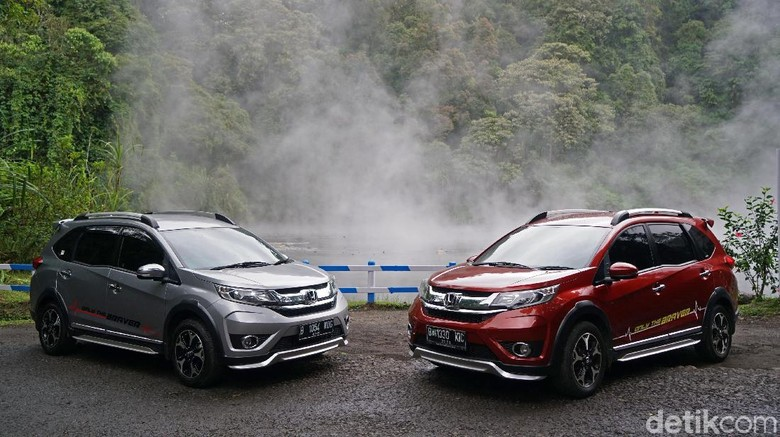 Honda BR-V Dijanjikan Bakal Lebih Segar Tahun ini Foto: Ruly Kurniawan