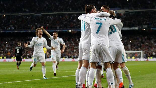 Real Madrid memperbesar peluang lolos ke perempat final usai unggul 3-1 di leg pertama.
