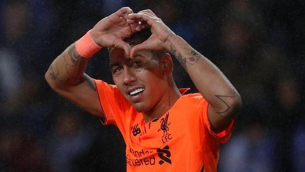 Roberto Firmino jadi pencetak gol terbanyak Liverpool di Liga Champions sejauh ini.