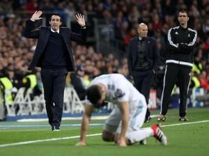 Emery Sebut Wasit Untungkan Madrid