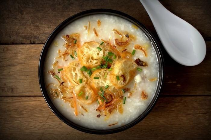 Image result for Dilarang makan bubur saat imlek