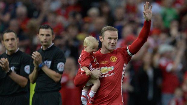 Wayne Rooney menjalani periode terbaik dalam kariernya bersama Manchester United.