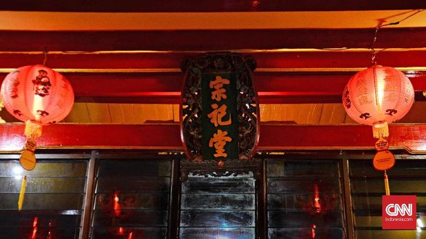 Kelenteng Sinar Samudra menjadi wujud peleburan budaya Tionghoa dan Jawa di Pecinan Semarang.