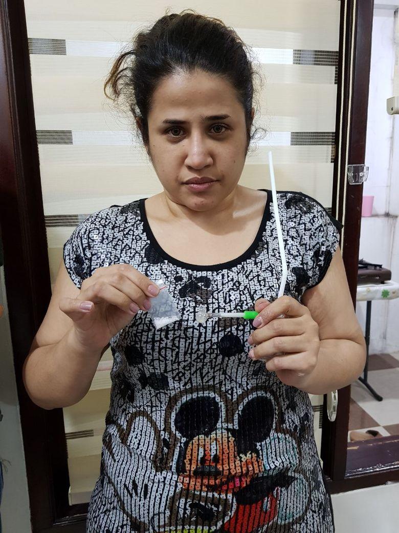 Dhawiya ditangkap pihak kepolisian atas kepemilikan narkoba pada Jumat (16/2). Foto: Istimewa