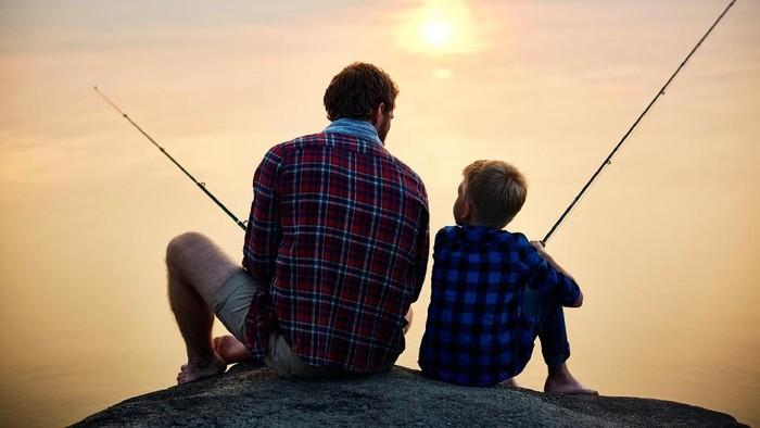 Ilustrasi ayah dan anak/ Foto: Istock