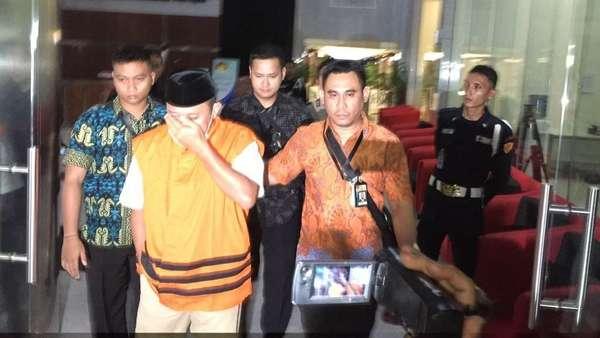 KPK Tahan 2 Tersangka Suap Pinjaman APBD Lampung Tengah