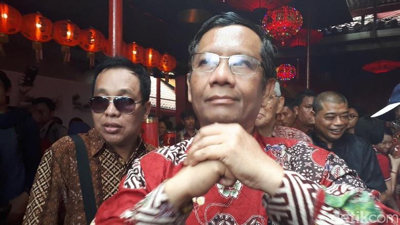 Ketua MK Didesak Mundur, Mahfud MD: Itu Konsekuensi