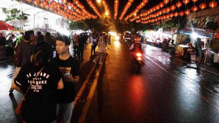 Lampiron di Pasar Gedhe Solo (Foto: (Bayu Ardi Isnanto/detikcom)