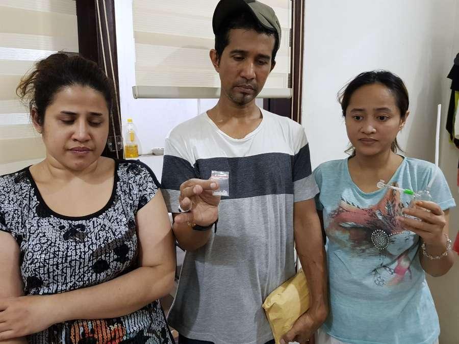 Penampakan Dhawiya saat Ditangkap, Lihat Liburan Cita Citata