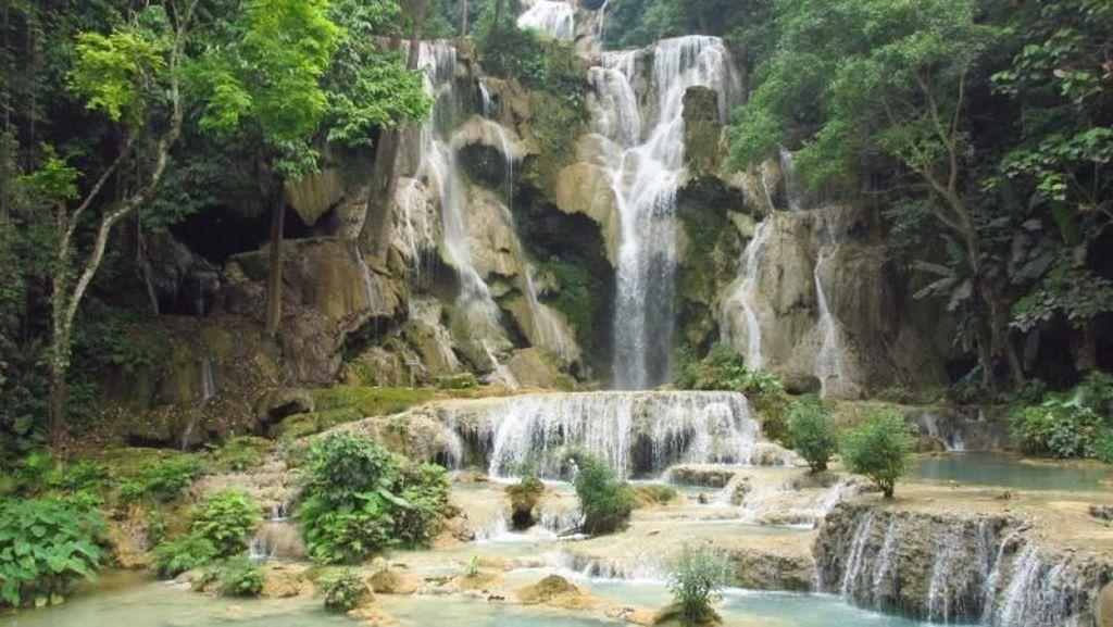 Air terjun, Beruang Madu & Legenda Rusa di Laos
