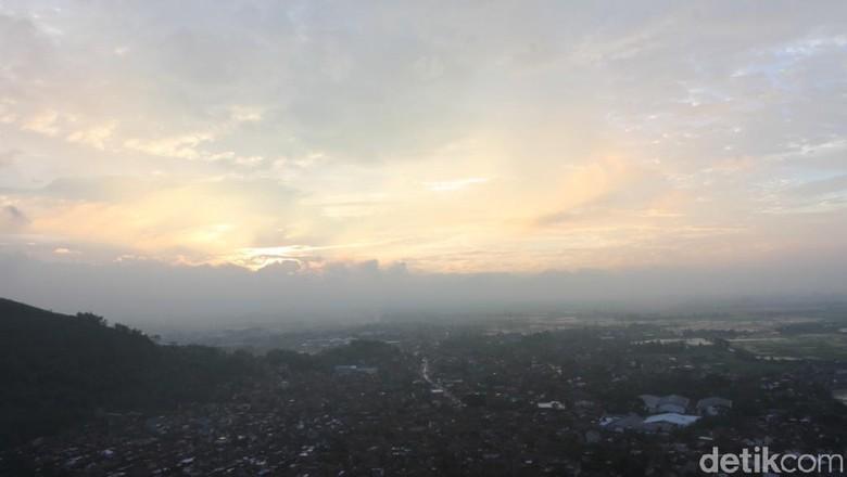 Senja romantis di Bandung (Wisma Putra/detikTravel)