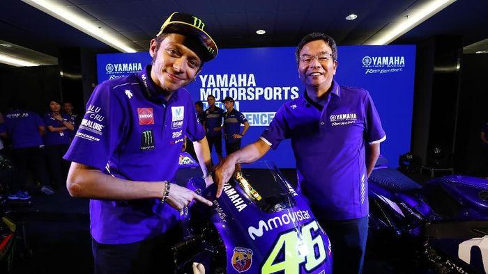 Perpisahan dengan Tech3 dan kontrak baru Valentino Rossi disebut akan membuat Yamaha dalam situasi yang rumit. (Foto: dok. Yamaha)
