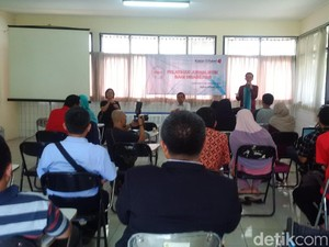 Kala Penyandang Disabilitas Ikut Pelatihan Jurnalistik