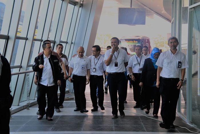 PT Angkasa Pura II (Persero) merencanakan gedung yang berfungsi sebagai akses utama ke Bandara Soekarno-Hatta dari Tangerang itu akan mulai dioperasikan pada 1 Maret 2018. Dok.Humas Bandara Internasional Soekarno-Hatta