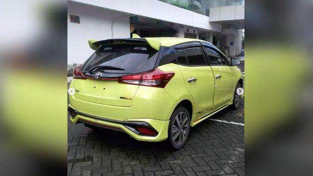 Toyota Yaris sudah ada di Jakarta Selatan.