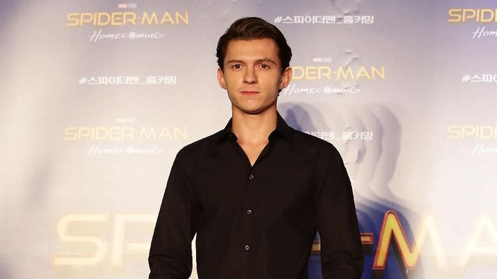 Bintang Spiderman Tom Holland yang punya diet sehat simpel. Foto: (Photo by Chung Sung-Jun/Getty Images)